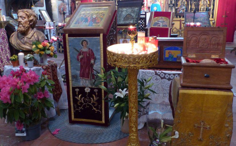 Solennité de saint Gény, mai 2018