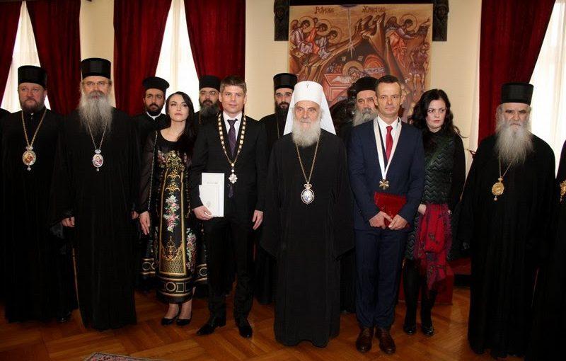Serbie : Arnaud Gouillon décoré par le patriarche de l'Eglise orthodoxe serbe