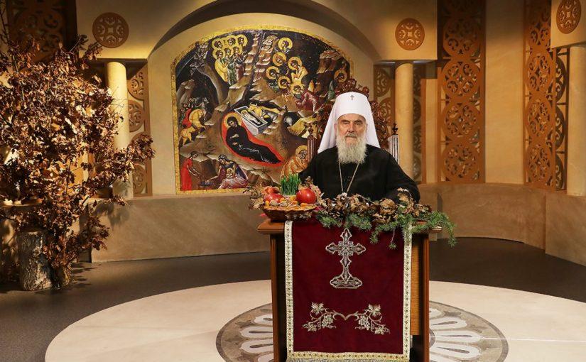Noël 2017 : Message du patriarche Irénée et de l'Assemblée des évêques orthodoxes serbes