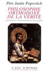 Philosophie orthodoxe de la vérité 2