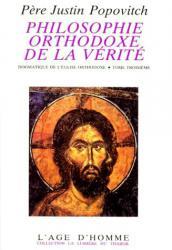 Philosophie orthodoxe de la vérité 3