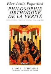 Philosophie orthodoxe de la vérité 5