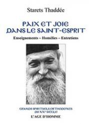 Paix et joie dans le saint esprit