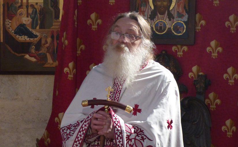 75 ans de l'Archimandrite Antoine, syncelle du Diocèse Orthodoxe Serbe de France et d'Europe occidentale, abbé du Monastère Saint Gény de Lectoure