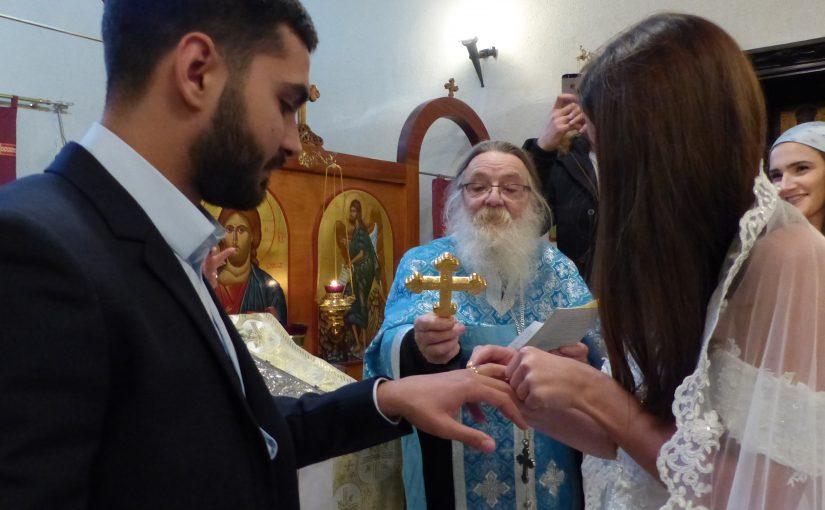 MARIAGE EN L'ÉGLISE PROPHÈTE ÉLIE – SAINT DENYS  À DÉNAT d'ALBI(Tarn)