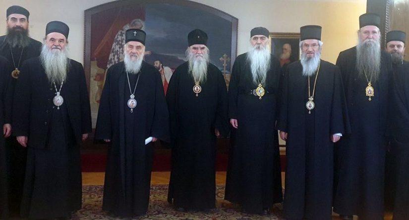 Communiqué du Saint-Synode de l'Église orthodoxe serbe relatif au Monténégro