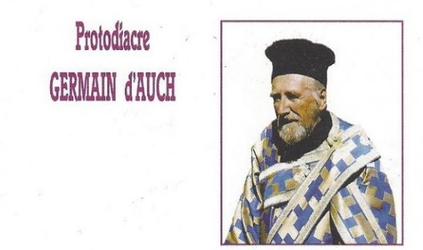 In memoriam, Protodiacre Germain